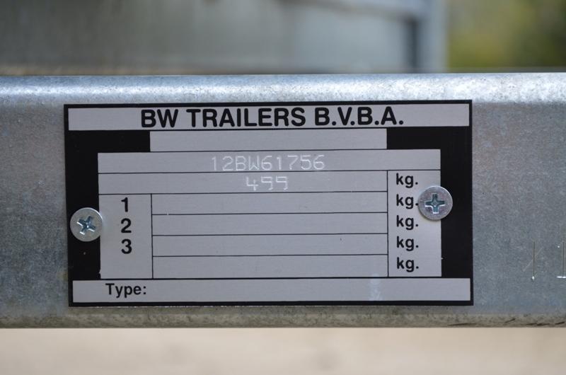Remorque pour chiens BW Trailers