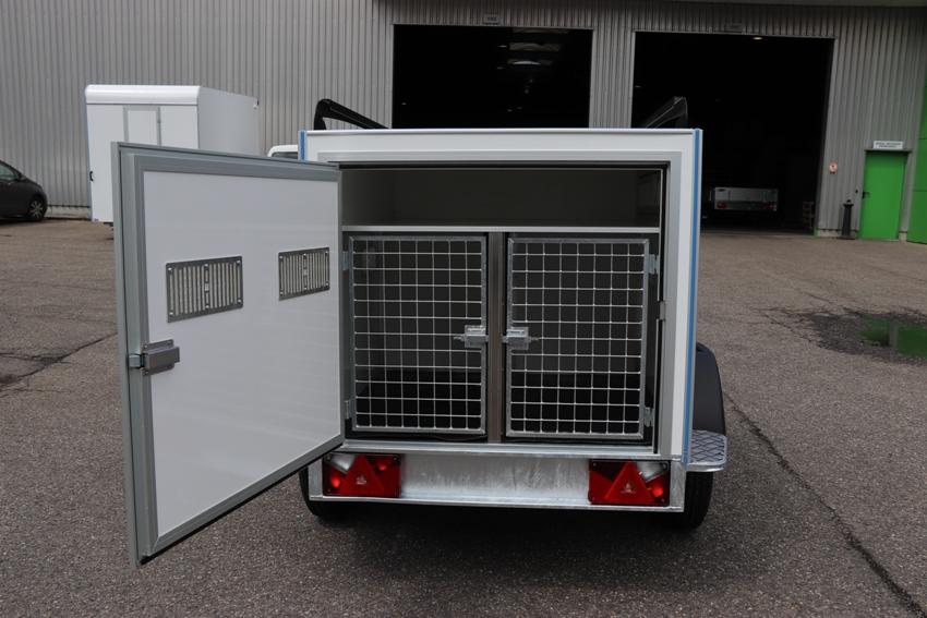 vente remorques chien belgique